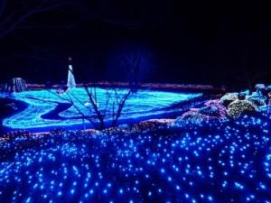 京都るり渓温泉イルミネーション